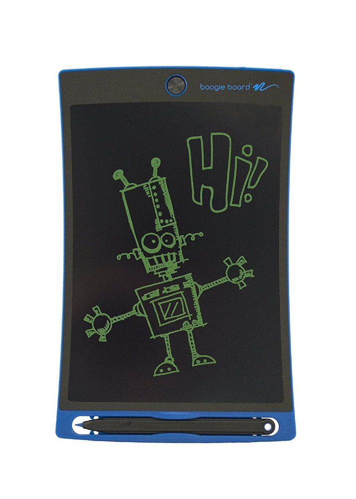 boogie board lcd writing tablets Features the boogie board rip lcd writing tablet combines an exceptional paper-like writing experience with the ability to save written or drawn images as files.